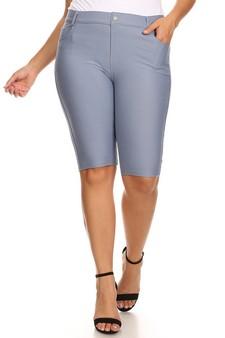 5fe4d733141 Women s 5 Pocket Classic Bermuda Shorts - Plus Size
