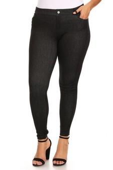 d15f7f726b473 WHOLESALE Women s 5 Pocket Classic Bermuda Shorts - Plus Size Women s  Classic Solid Strench Bermuda Jeggings. Women s 5 Pocket Soft Knit Skinny  Jeggings